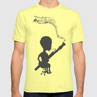 Rite of Spring Mens Fitted Tee Lemon SMALL