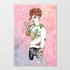 Flourish Kai Canvas Print