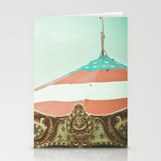 At the Carnival Stationery Cards