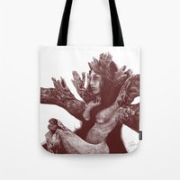 Sleeping Forest Tote Bag