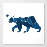 California Bear Canvas Print