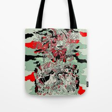 UNINVITED GARDEN Tote Bag