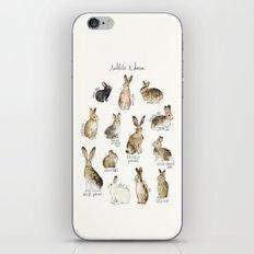 Rabbits & Hares iPhone & iPod Skin