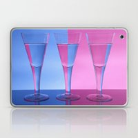 Refracted Wine Glasses  Laptop & iPad Skin