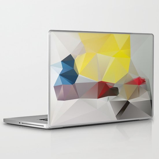 Because the music that they constantly play IT SAYS NOTHING TO ME ABOUT MY LIFE Laptop & iPad Skin
