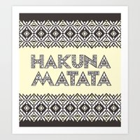 SAWASAWA 1 Art Print