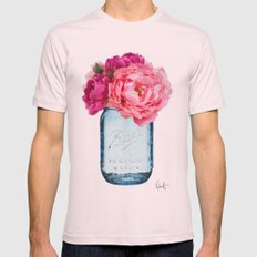 Perfect Mason  Mens Fitted Tee Light Pink SMALL