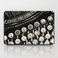 Underwood  typewriter  iPad Case
