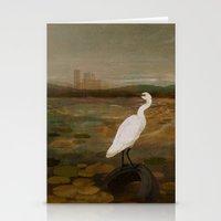 Marshland Vs Man Stationery Cards