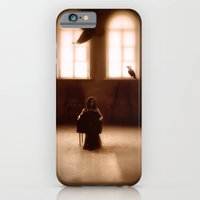 iPhone & iPod Case featuring raven girl by ihavenonameandadress