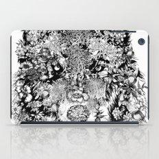 Floral Animals -black An… iPad Case