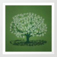 Money Tree Art Print