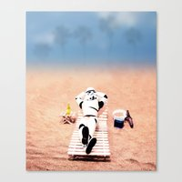 To Hell With Those Droid… Canvas Print