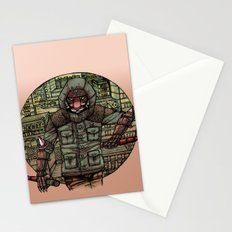 The Tiger and Concrete Jungle Stationery Cards