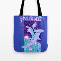 Space Sharks! Tote Bag