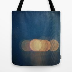 Mirage -- Abstract Light Photo Montage Tote Bag