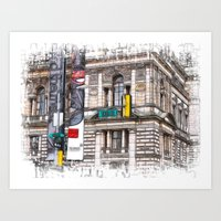 World War Z Street Locat… Art Print