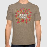 In Wine, There Is Truth … Mens Fitted Tee Tri-Coffee SMALL