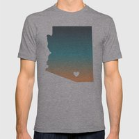 Arizona - Tucson Mens Fitted Tee Athletic Grey SMALL
