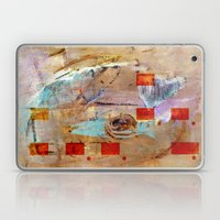 Abstract In Beige Laptop & iPad Skin