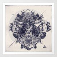 Neptunite Art Print