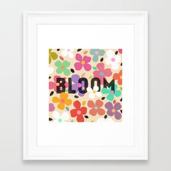 Bloom by Galaxy Eyes & Garima Dhawan Framed Art Print