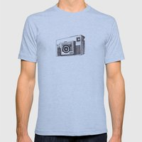 Instamatic X35 Mens Fitted Tee Athletic Blue SMALL