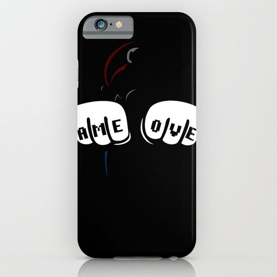 GAME OVER - Mario iPhone & iPod Case