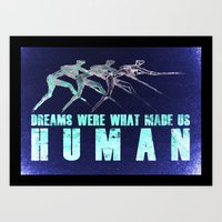 Dreams... Art Print