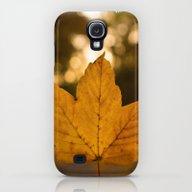 One Leaf - Autumn Galaxy S4 Slim Case