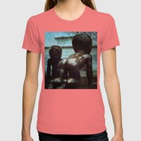Alien Babies - Prague Womens Fitted Tee Pomegranate SMALL