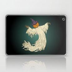 Pumpkin-Headed Ghost Laptop & iPad Skin