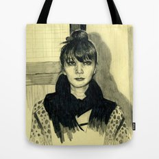 Fashion sketch Tote Bag