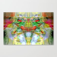 The God of Evil and Vegetables Canvas Print