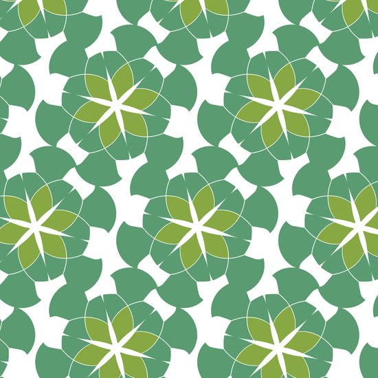 Spring Floral Pattern 1 Art Print