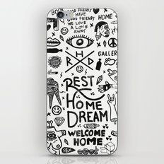 REST HOME DREAM iPhone & iPod Skin