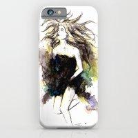 Watercolor Girl iPhone 6 Slim Case