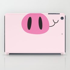 Happy Pig Minimalist iPad Case