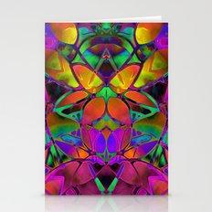 Floral Fractal Art G306 Stationery Cards