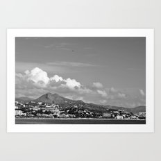 Managa Art Print