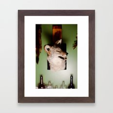 'Yote Framed Art Print