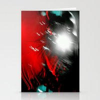 Red Flash With A Little … Stationery Cards