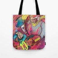 Mega Man Tribute Tote Bag