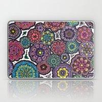 Psychedelic Flowers Laptop & iPad Skin
