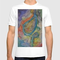 Dazed And Confused In Cr… Mens Fitted Tee White SMALL