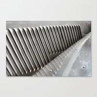 Metal Ribs Canvas Print
