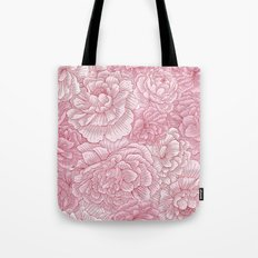 Pink Blossom Tote Bag