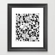 Sugar (monochrome Series… Framed Art Print