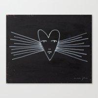 radiant heart Canvas Print