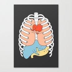 Hugs Keep Us Alive 2 Canvas Print